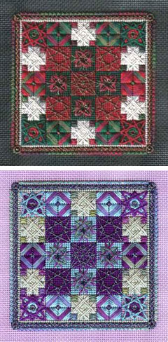 A Vineyard Holiday Quilt Patch by Michael Boren