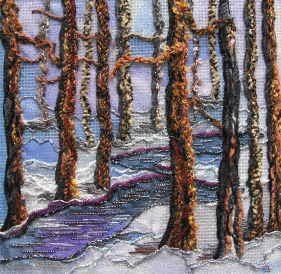 Winter In The Forest by Lynn Payette