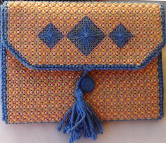 Needlework Tool Case (folded) by Mary Long